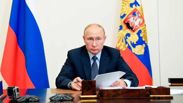Путин наградил орденами Мужества пожарных, тушивших Невскую мануфактуру