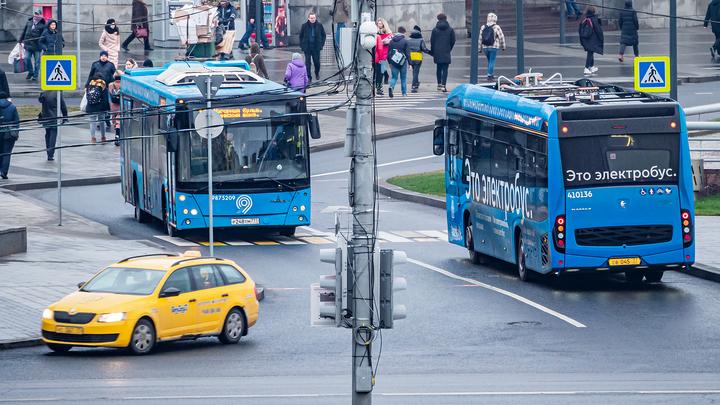 Москва станет первым крупным городом с электротранспортом