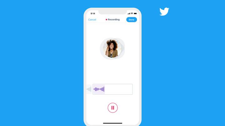 Twitter внедряет голосовые сообщения