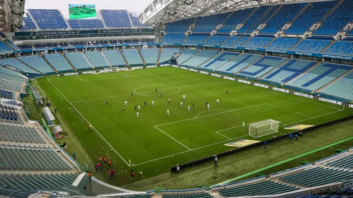 Футболисты сборной России сыграли вничью в товарищеском матче с командой Молдавии со счетом 0:0