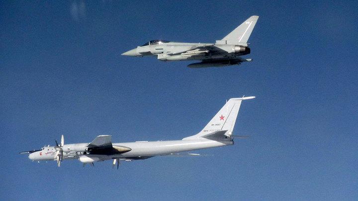 Российские и натовские самолеты пролетели над пятью морями и океаном