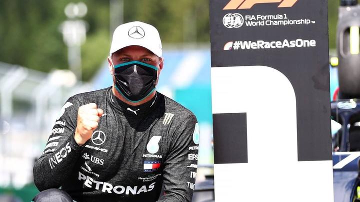 Боттас выиграл Гран-при Турции