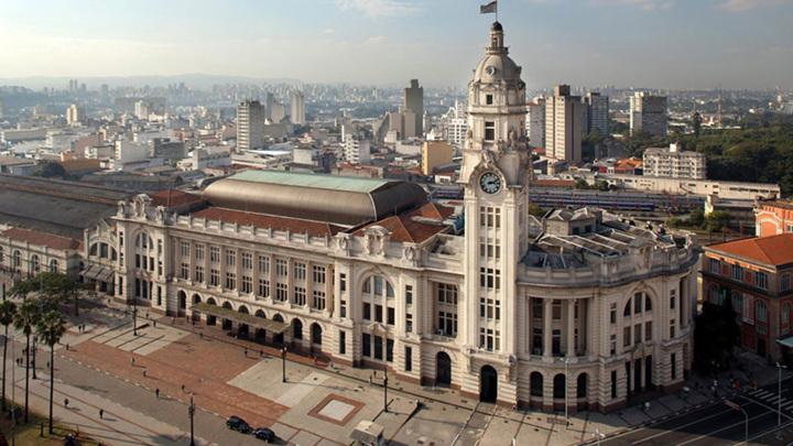 Концертный зал Сан-Паулу (Бразилия). Внешний вид здания бывшего вокзала | knownway.com