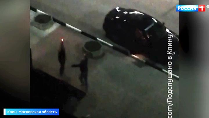 В Клину пьяная компания устроила танцы со стрельбой