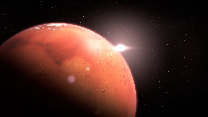 Российский спектрометр нашел хлороводород в атмосфере Марса