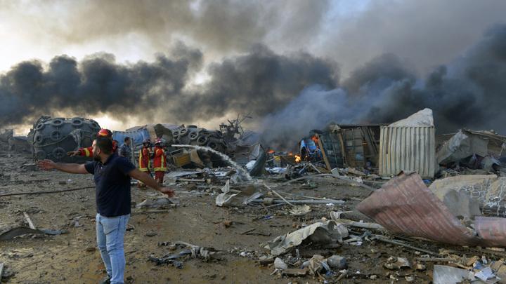 ООН помогает Ливану в ликвидации последствий взрыва в бейрутском порту