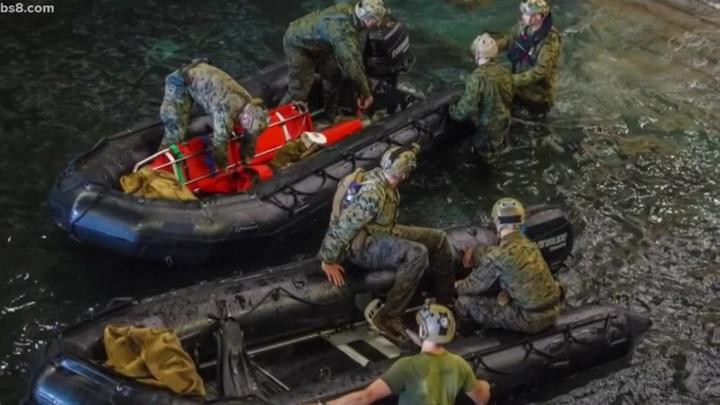 У берегов Калифорнии нашли затонувшую боевую амфибию с погибшими военными