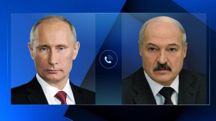 Лидеры России и Белоруссии обсудиликооперацию в ВПК