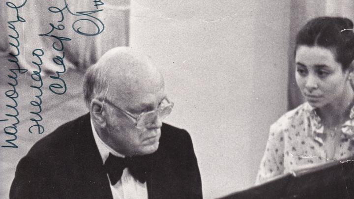 Святослав Рихтер и Людмила Берлинская. Фото из архива Л.Берлинской