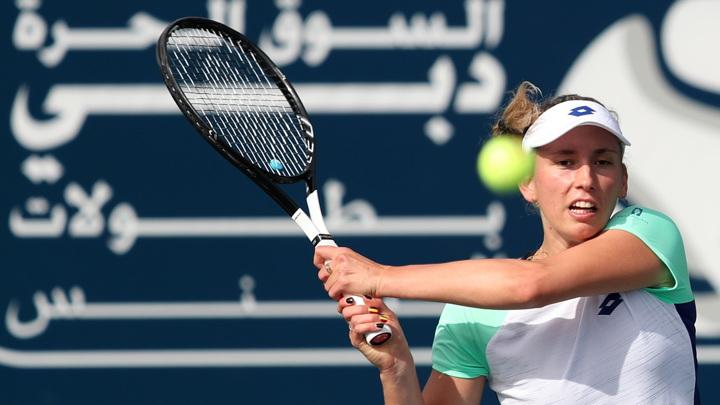 Теннисистка Бертенс стала первой финалисткой турнира в Праге