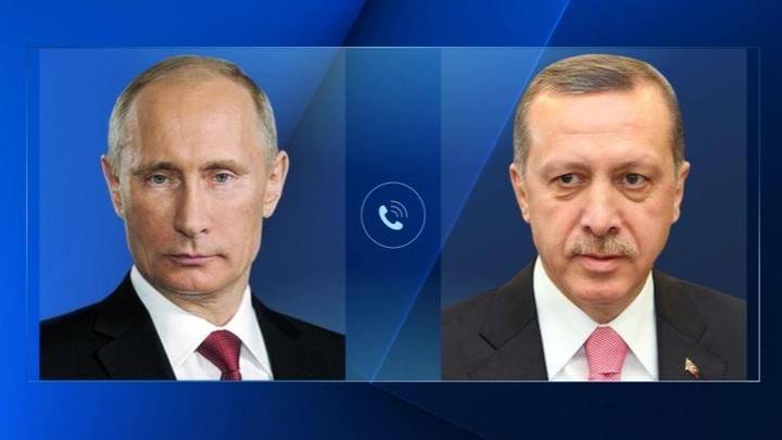 Путин и Эрдоган обсудили сотрудничество в борьбе с COVID-19