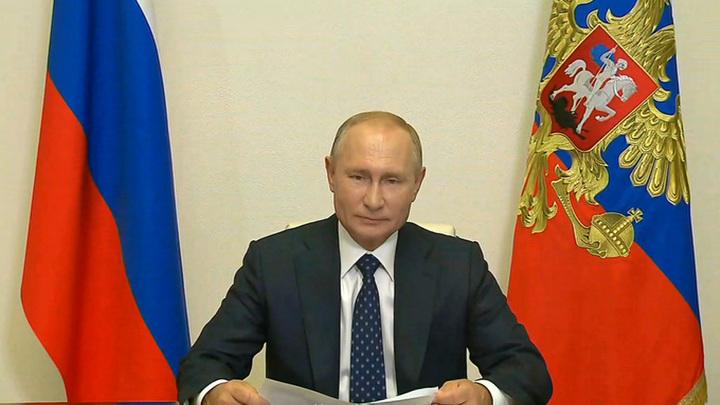 Путин: исходим из того, что выборы в Белоруссии состоялись