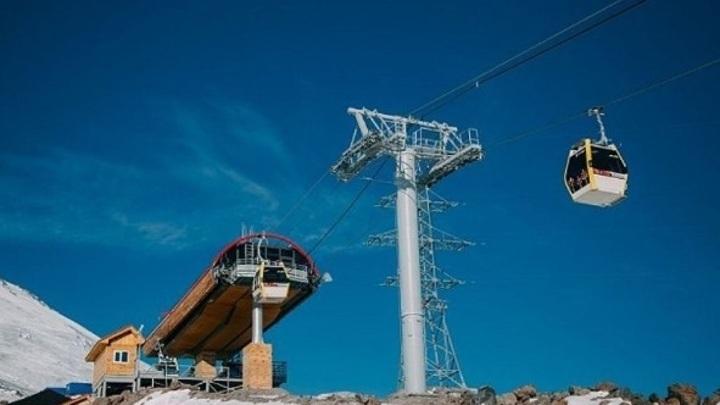 Канатные дороги на Эльбрусе закрыты до октября