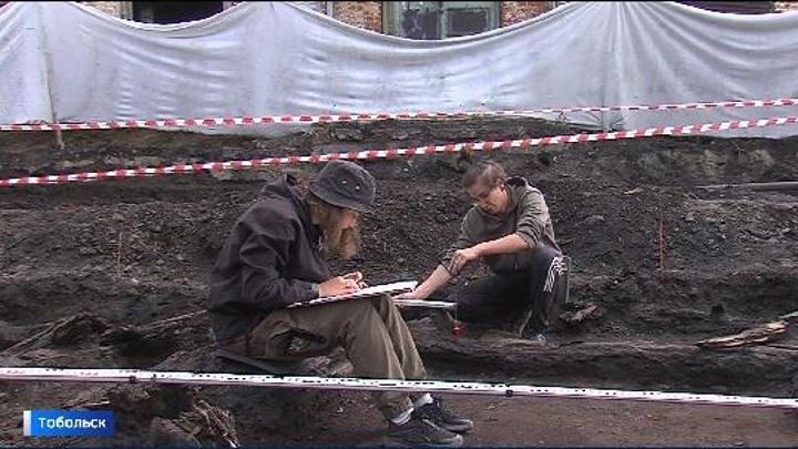 Археологи нашли в Тобольске остатки усадьбы второй половины 18 века