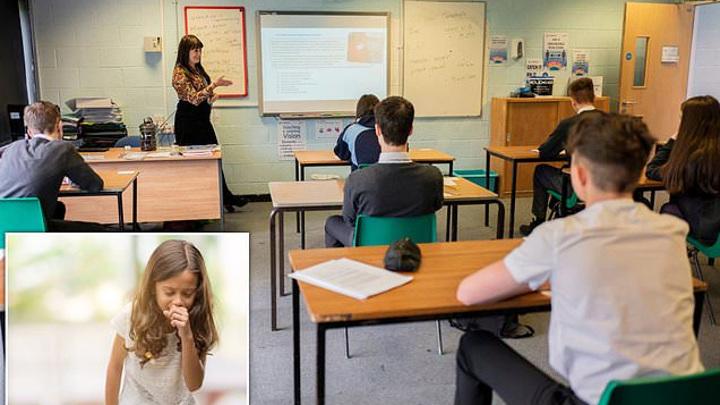 Школьникам в Британии запретили кашлять и шутить о коронавирусе