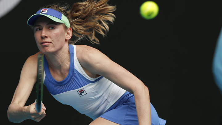 Александрова прошла в третий круг теннисного турнира в Москве