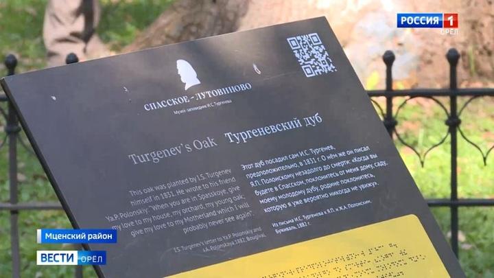 В Спасском-Лутовинове обследовали дуб, который в юности посадил Иван Тургенев