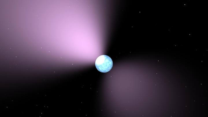 Астрономы обнаружили объект, претендующий на звание мощнейшего магнита во Вселенной.