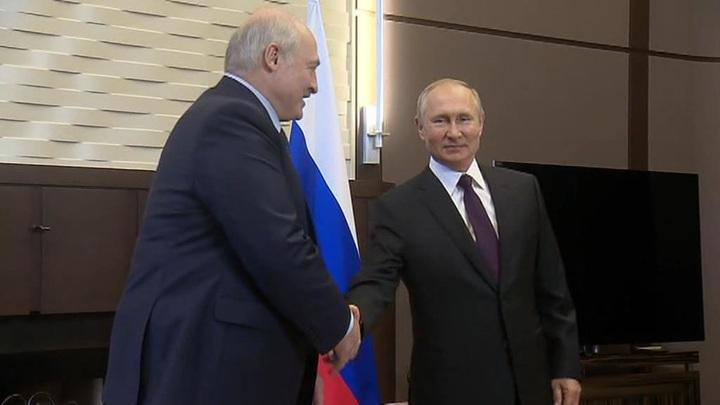 Переговоры Путина и Лукашенко пройдут в Москве в четверг
