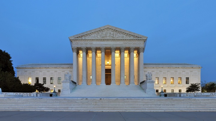 Верховный суд в Вашингтоне не стали эвакуировать