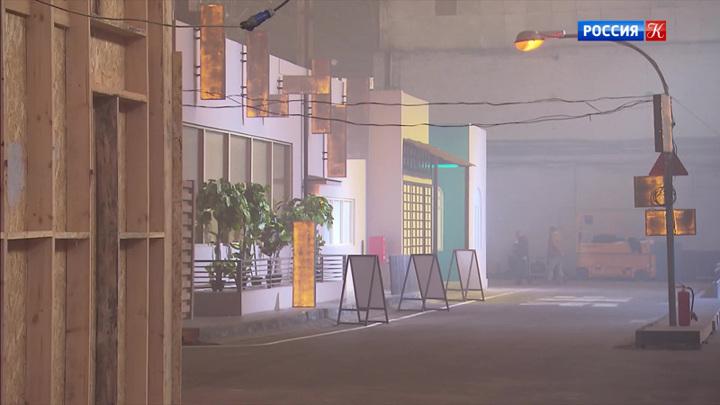 Декорации нового фильма Валерия Фокина на один день открыли для посещения