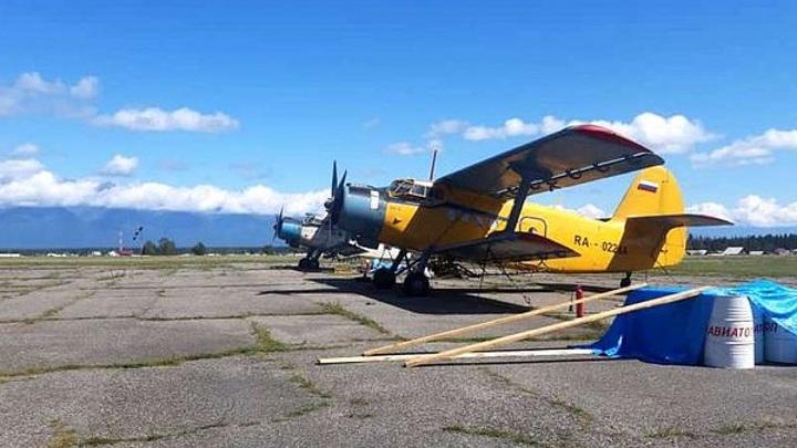 Под Саратовом ищут рухнувший самолет