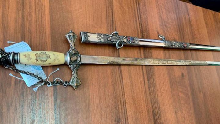 В Самарский музей передали масонский меч Ордена Тамплиеров