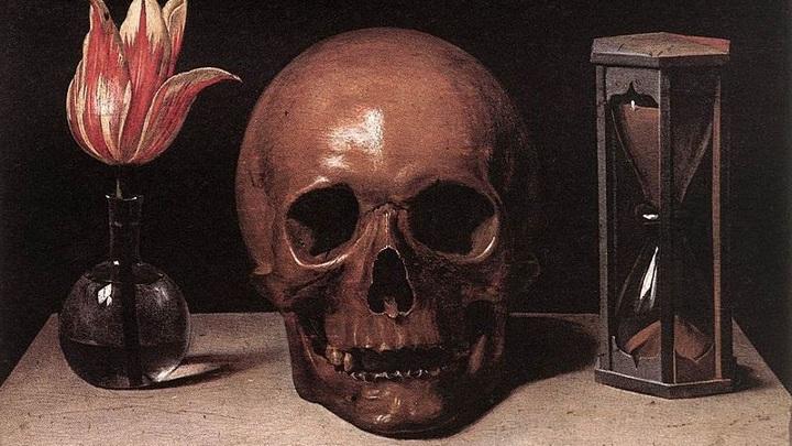 """""""Натюрморт с черепом""""  Автор Филипп де Шампань"""