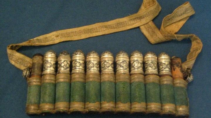 Газырница, сделанная мастерами Кубачей