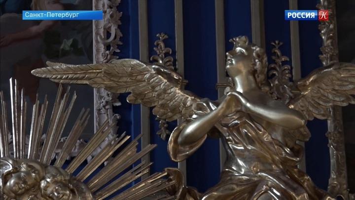 Апартаменты Екатерины II в Царском Селе отреставрируют к 2022 году