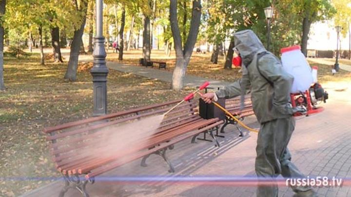 В Пензе возобновляется дезинфекция общественных мест