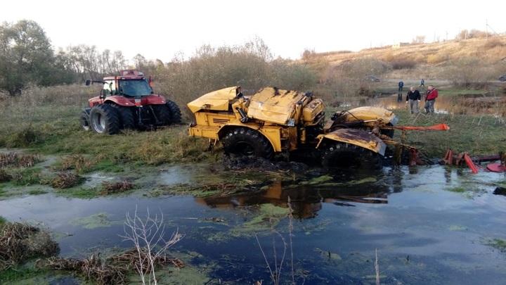 В Липецкой области в реке погиб тракторист
