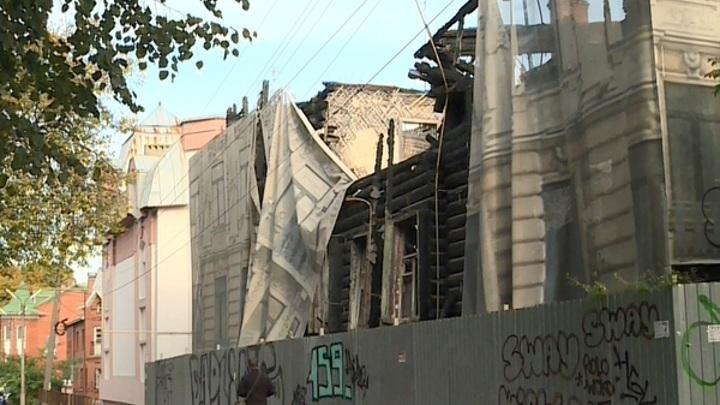 Сгоревший памятник архитектуры: судьба дома в Газетном переулке