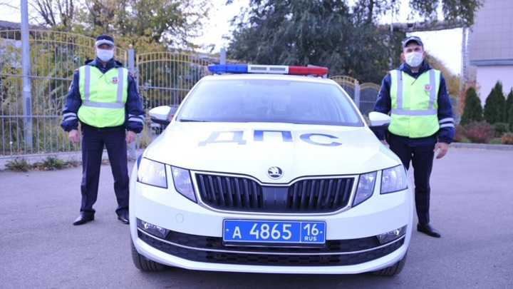 В Татарстане автоинспекторы помогли ребенку с сильными ожогами лица