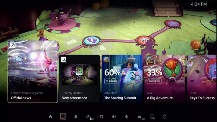 Интерфейс PlayStation 5 показали в подробном видео