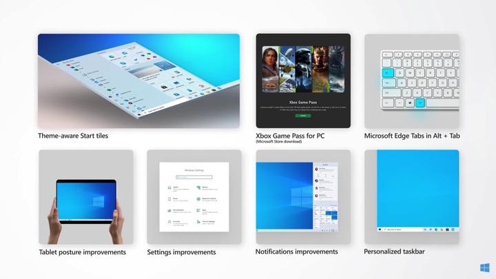 """Windows 10 начала получать обновление с новым меню """"Пуск"""""""