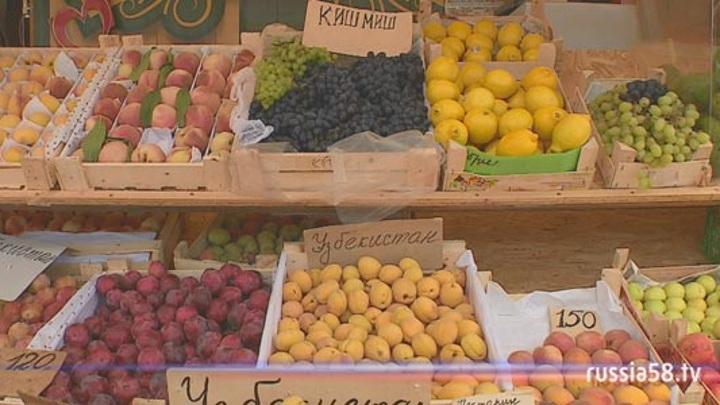 Почти тонну некачественных овощей и ягод изъяли в Пензенской области