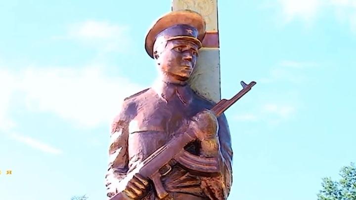 В Брянской области пограничники требуют заменить неудачный памятник