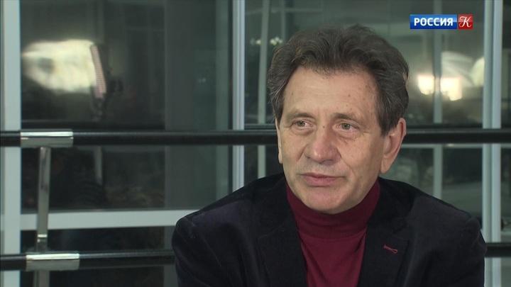 Гость встудии— ректор Театрального института имени Щукина Евгений Князев