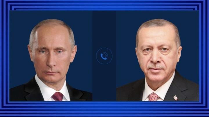 Путин и Эрдоган обсудили по телефону возможные поставки российских вакцин от covid
