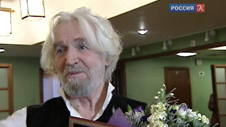В МХТ имени Чехова прошло чествование Станислава Любшина