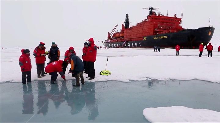 В Ирландии нашли капсулу времени, оставленную экипажем российского ледокола