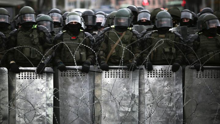Группу молодых анархистов задержали в Белоруссии