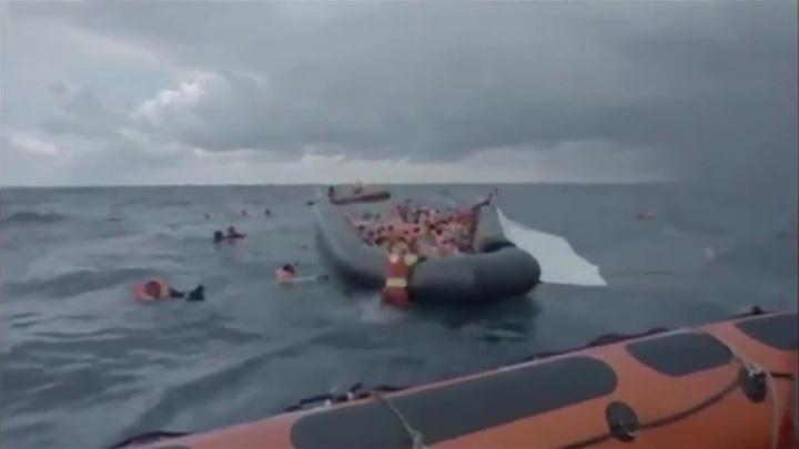 В Средиземном море утонули пять мигрантов, в том числе младенец
