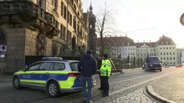 Полиция задержала грабителей сокровищницы в Дрездене