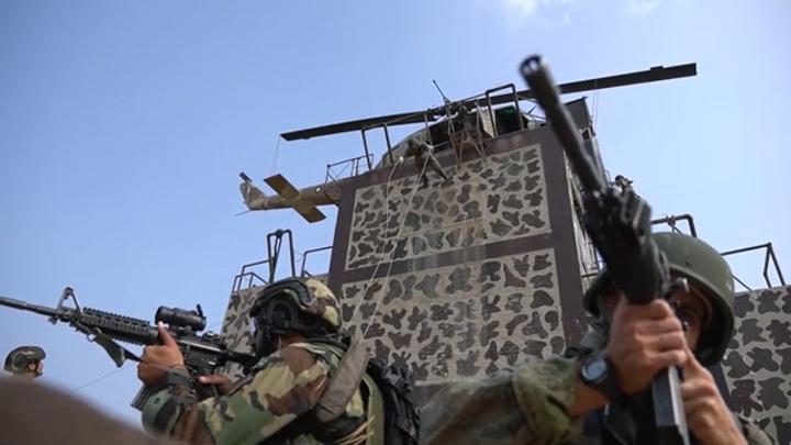 Российские снайперы постреляли из американских винтовок
