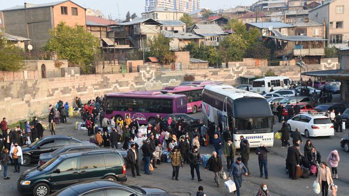 488 беженцев вернулись в свои дома в Карабахе за сутки