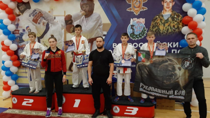 Шесть медалей завоевали нижегородцы на Всероссийских соревнованиях по рукопашному бою