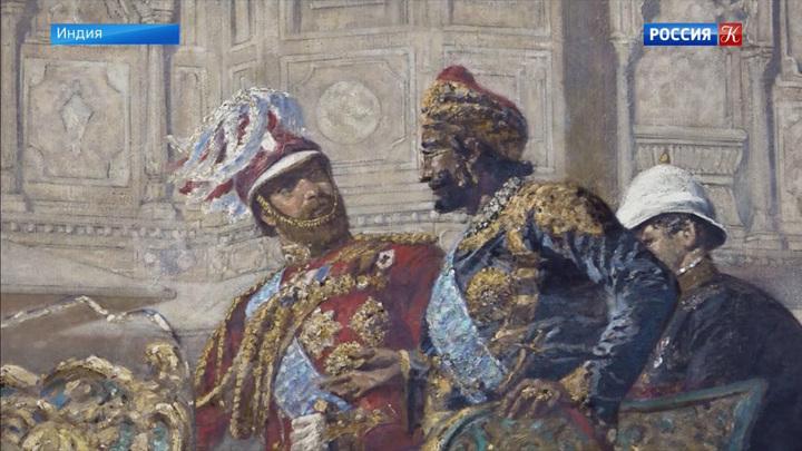 Самую большую картину Василия Верещагина отреставрировали в Индии