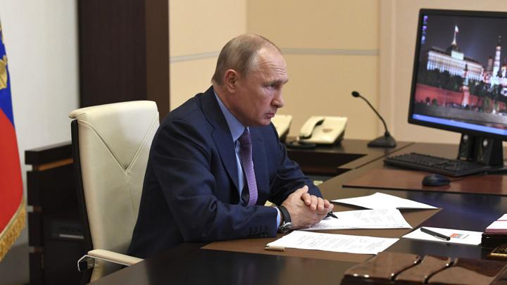 """Президент провел видеосовещание о ходе ликвидации отходов на """"Усольехимпроме"""""""